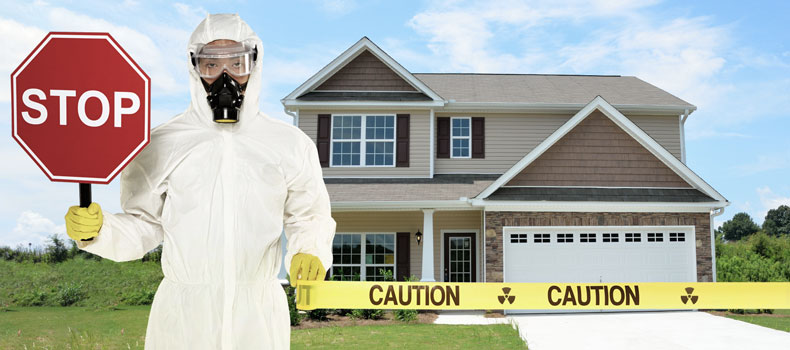 Have your home tested for radon by Castle Home Inspections
