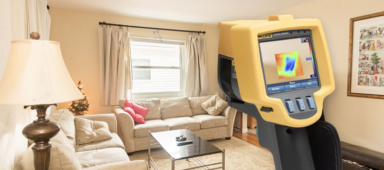 Get a thermal (infrared) home inspection from Castle Home Inspections